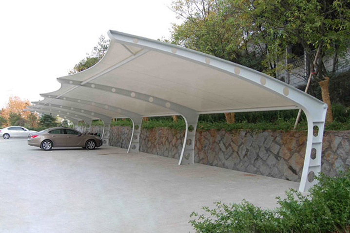 Steel Canopies and car parking